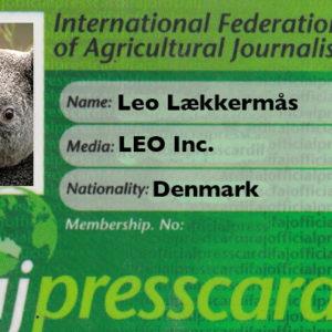 Pressekort