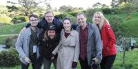 6 af de 10 Young Leaders deltagere i IFAJ kongressen på New Zealand 2015-