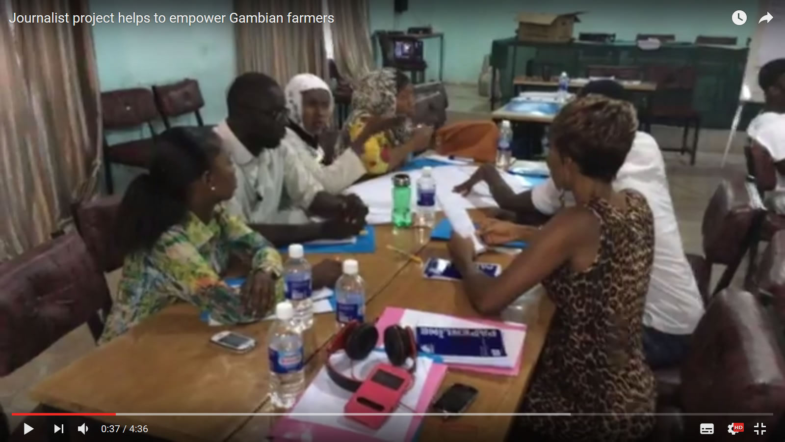 Video Om Gambia-projektet