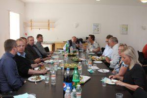Arrangementet var det første møde overhovedet der blev holdt i det nyindrettede mødelokale på BL's nye adresse på Qvistgaard uden for Fredericia.