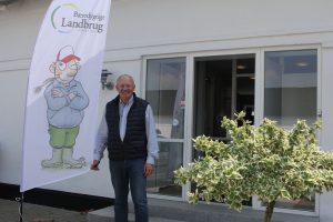 BL's formand Flemming Fuglede Jørgensen tog imod gæsterne.