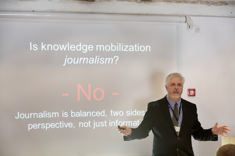 IFAJ-præsident: Journalistik Kan Gøre Viden Brugbar