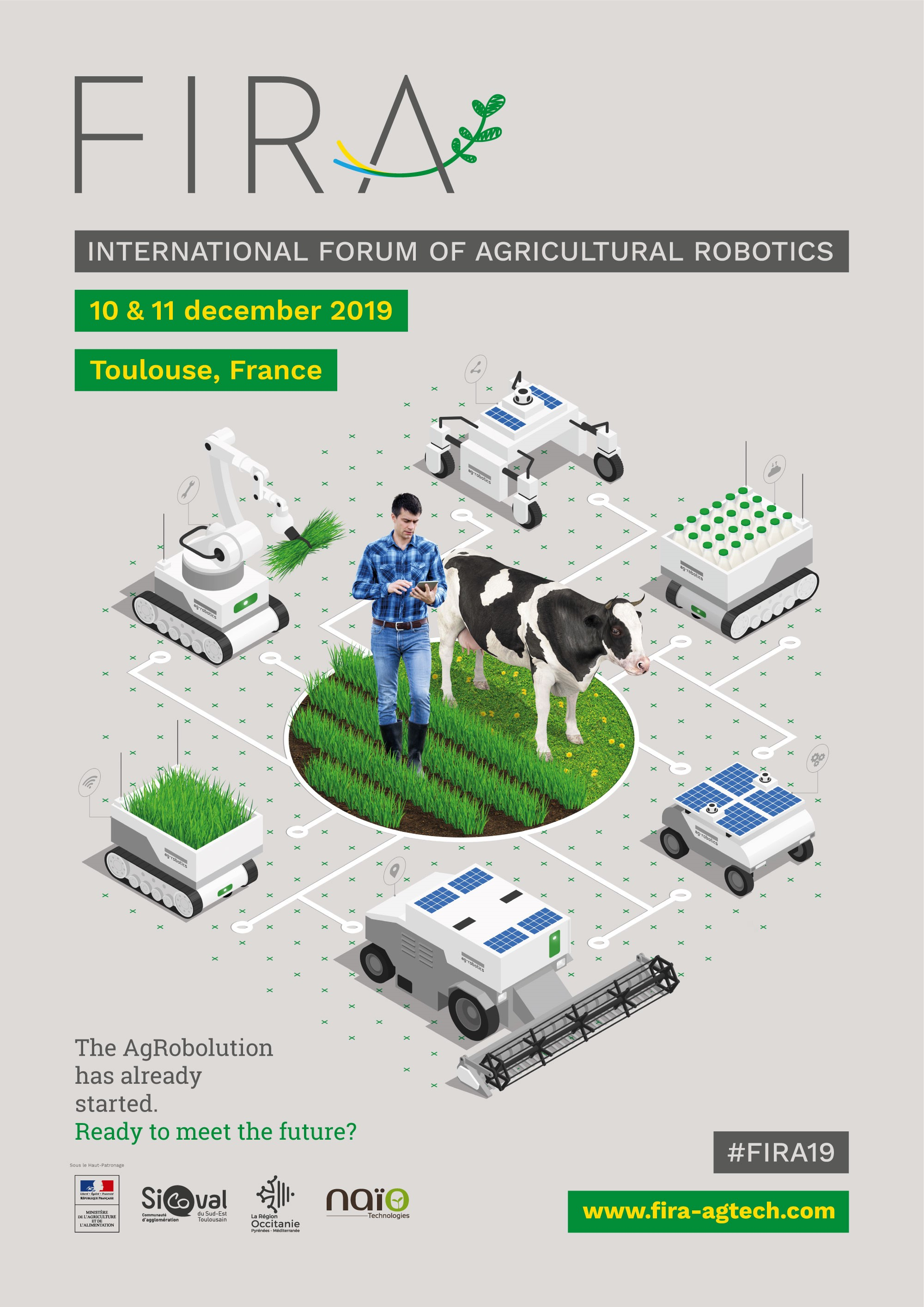 Invitation Til International Forum For Landbrugsrobotter Den 10.-11. December I Frankrig.
